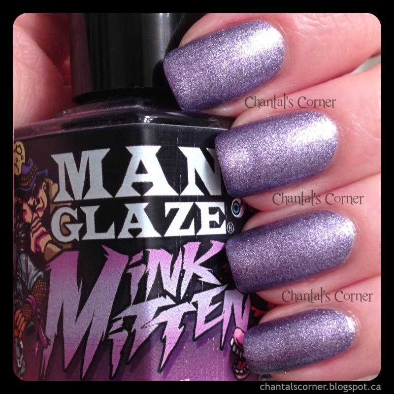 ManGlaze Nail Polish - Review - Chantal\'s Corner