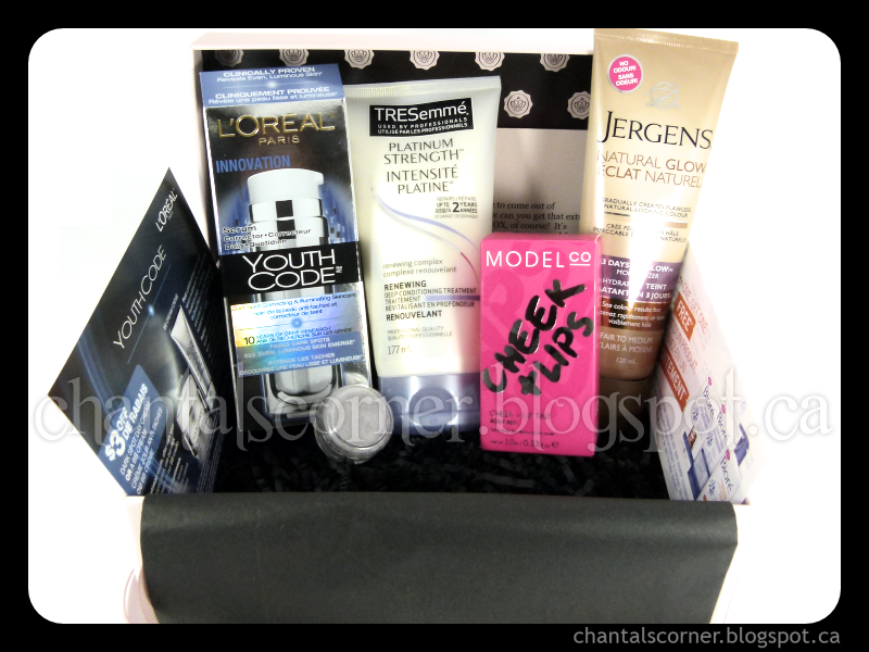 GLOSSYBOX Canada: March 2013