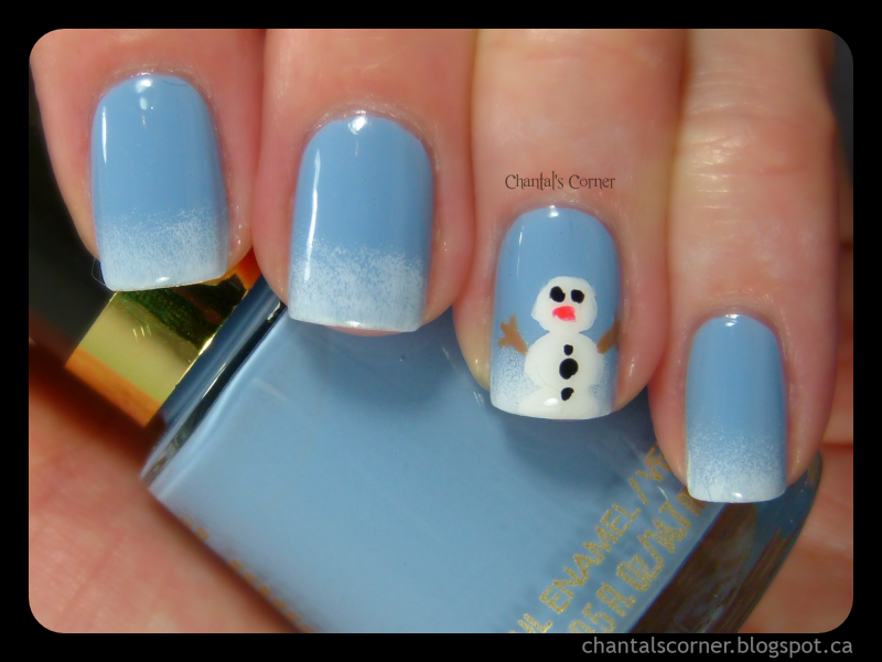 Snowman Nail Art - Chantal\'s Corner