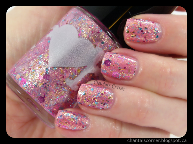 """Rainbow Honey """"Pinkie Promise"""" – Swatches and Review"""