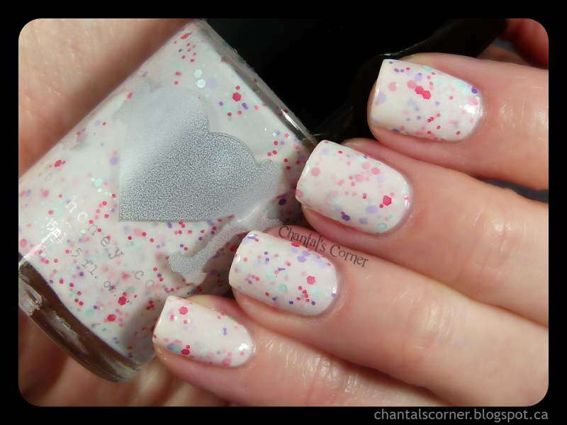 """Rainbow Honey """"Sweet Talk"""" – Swatches and Review"""