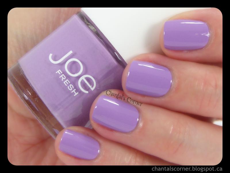 Joe Fresh \'\'Lavender\'\' - Swatches and Review - Chantal\'s Corner