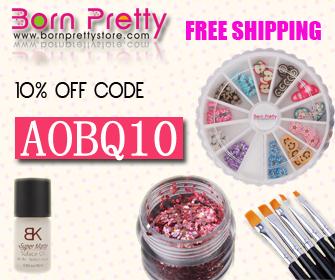 Born Pretty Store Coupon AOBQ10