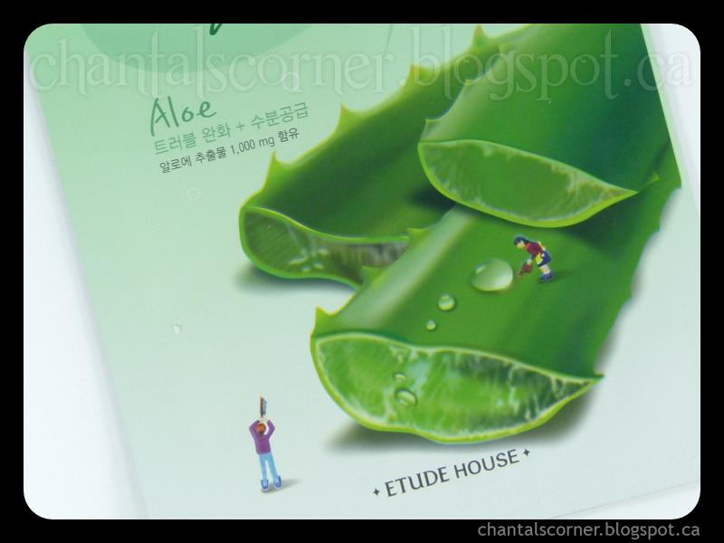 Etude House I Need You Aloe! Mask Sheet – Review