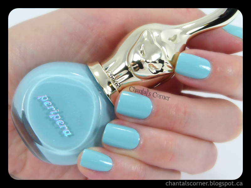 """Peripera """"Sky Blue"""" – Swatches and Review"""