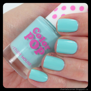 Etude House Color Pop Nail Polish in Cool Mint