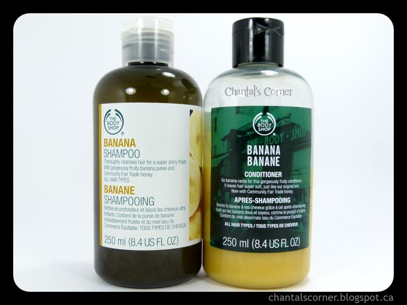 The Body Shop Banana Shampoo & Conditioner – Review