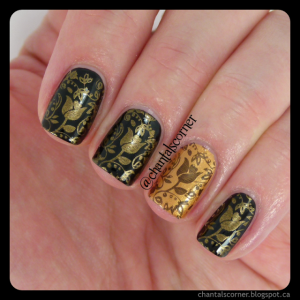 Antique Gold Stamping
