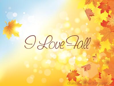 """""""I Love Fall"""" Tag"""