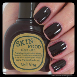 Skinfood Black Cherry RE106 nail polish