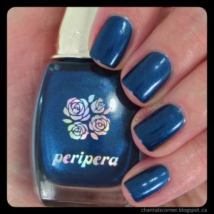 Peripera Nail Polish in Night Blue
