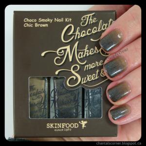 Skinfood Chocolate Nails nail polish