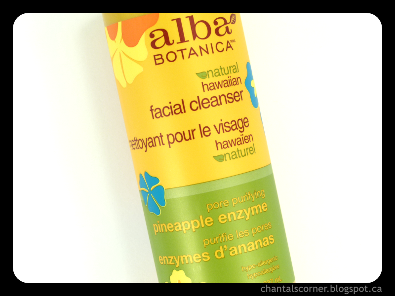 Alba Botanica Natural Hawaiian Facial Cleanser – Review
