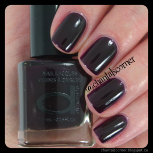 Dynamite nail polish in Cassis