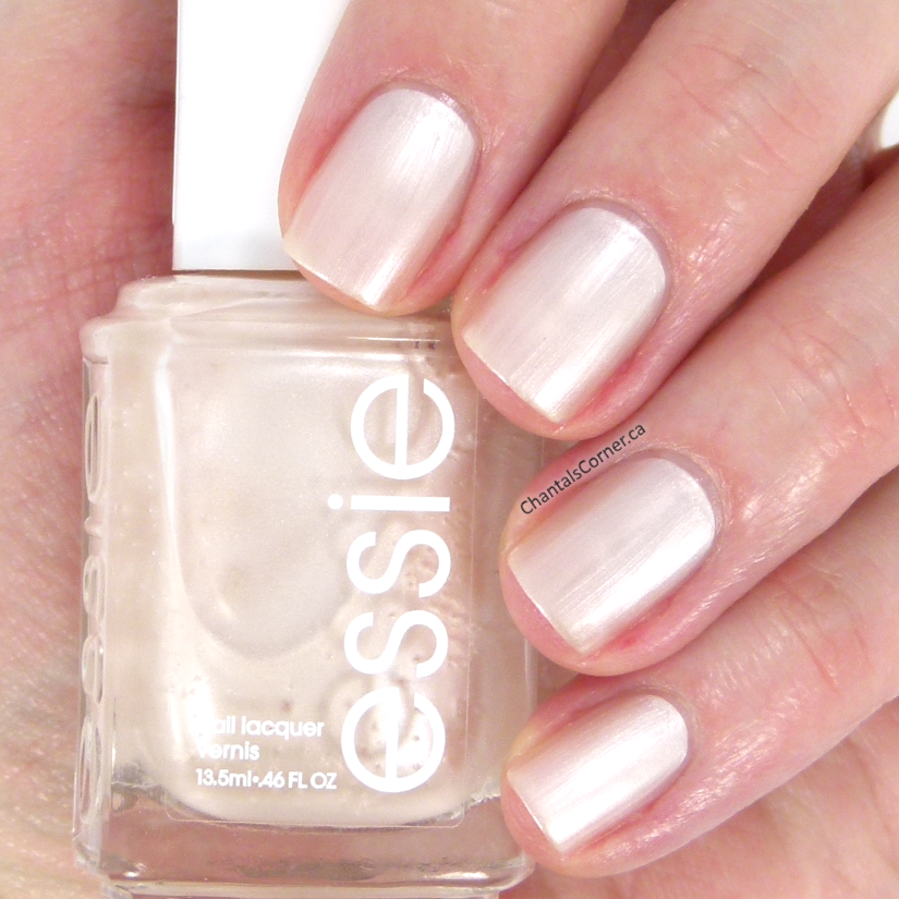 essie nail polish imported bubbly