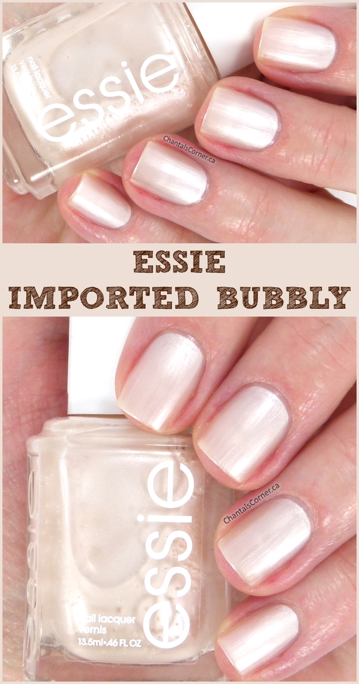 Essie nail polish in Imported Bubbly
