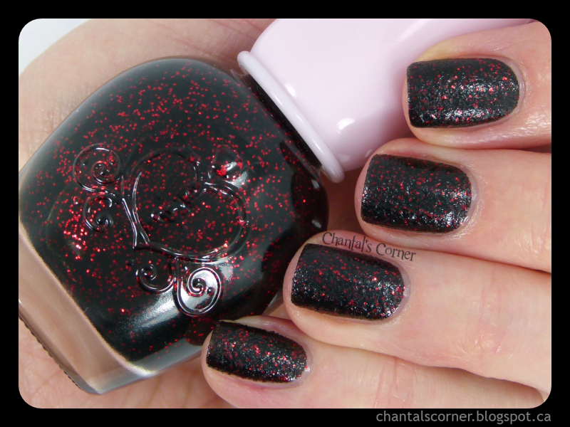 """Etude House """"Evening Black Sand"""" – Swatches and Review"""