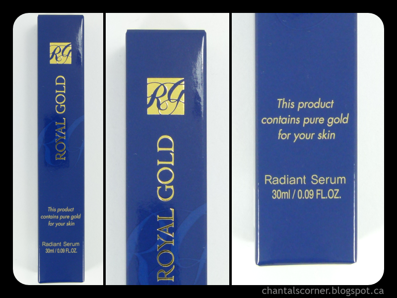 "Royal Gold ""Radiant Serum"" – Review"