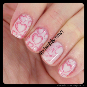 Valentine Jelly Sandwich Nail Art