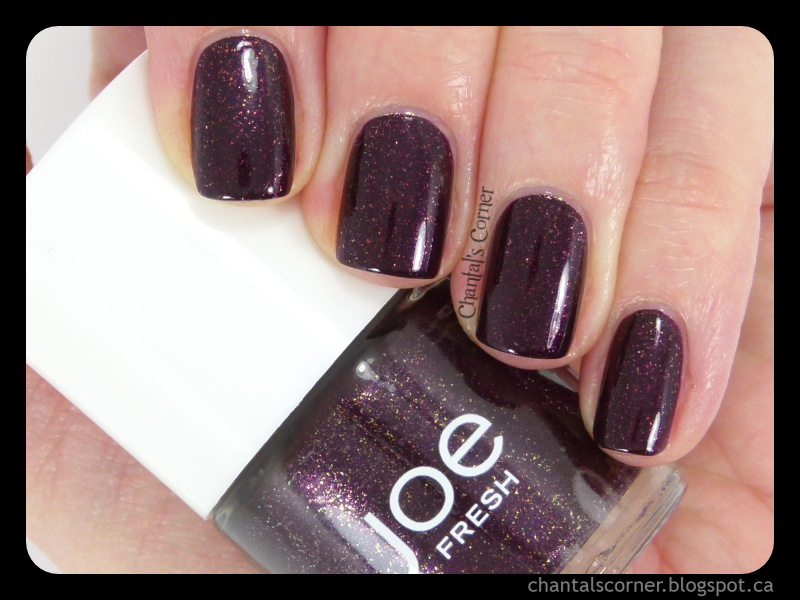 Joe Fresh \'\'Mulberry\'\' - Swatches and Review - Chantal\'s Corner