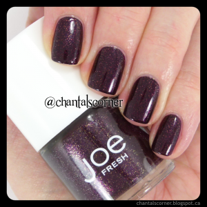 Joe Fresh Mulberry nail polish