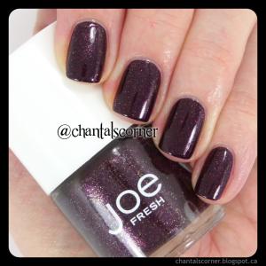 Joe Fresh Mulberry nail polish