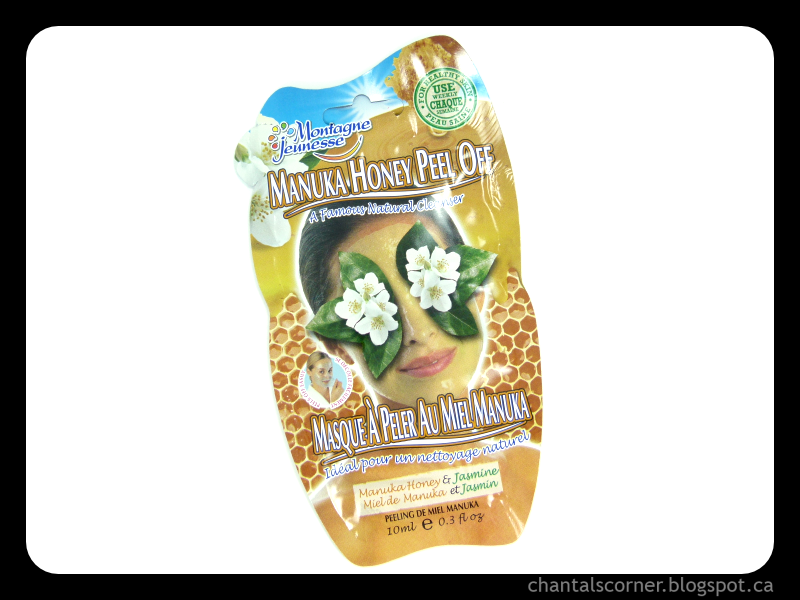 Montagne Jeunesse Manuka Honey Peel Off Masque – Review