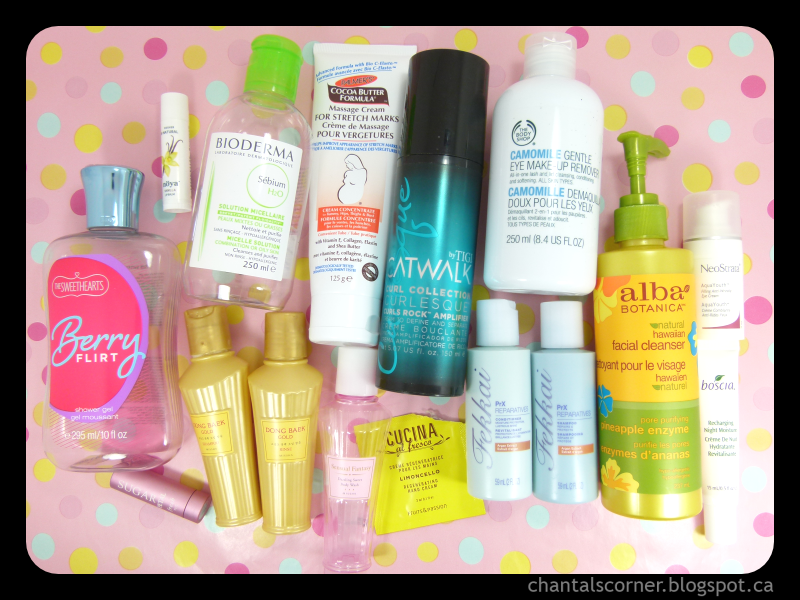 Monthly Empties: April 2014