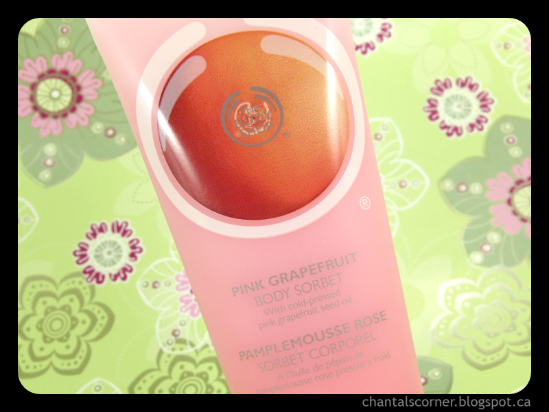 The Body Shop Pink Grapefruit Body Sorbet – Review