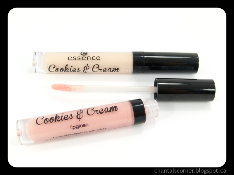 "Essence Cookies & Cream Lipgloss: ""Macaron, c'est bon!"" & ""Be My Cookie Monster"" – Review"