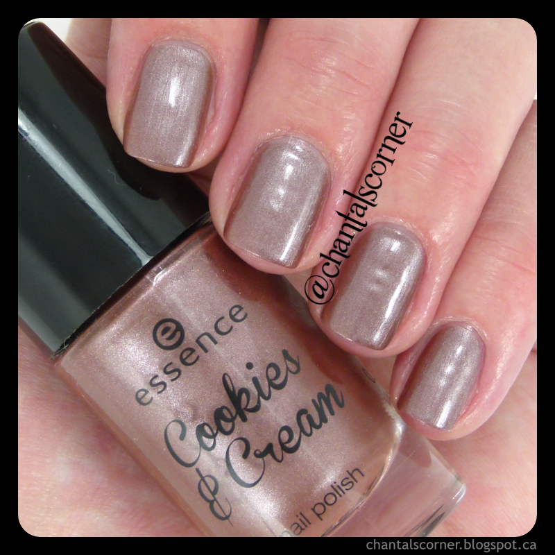 Essence Cookies & Cream Trend Edition Nail Polish in Last Night A Cookie Saved My Life