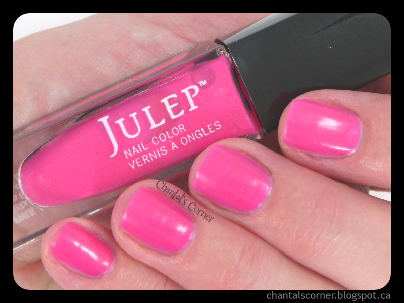 "Julep ""Caitlin"" Nail Polish – Swatches and Review"