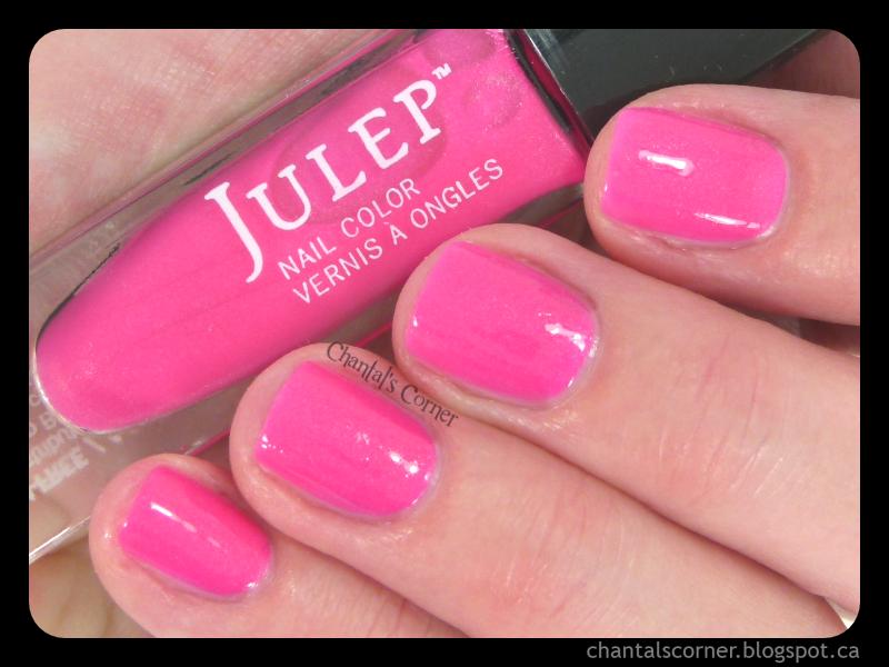 Julep \'\'Caitlin\'\' Nail Polish - Swatches and Review - Chantal\'s Corner