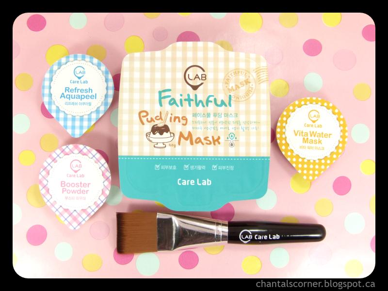 Mask Monday: Care Lab (C:LAB) Refresh Aquapeel, Faithful Pudding Mask & Vita Water Mask