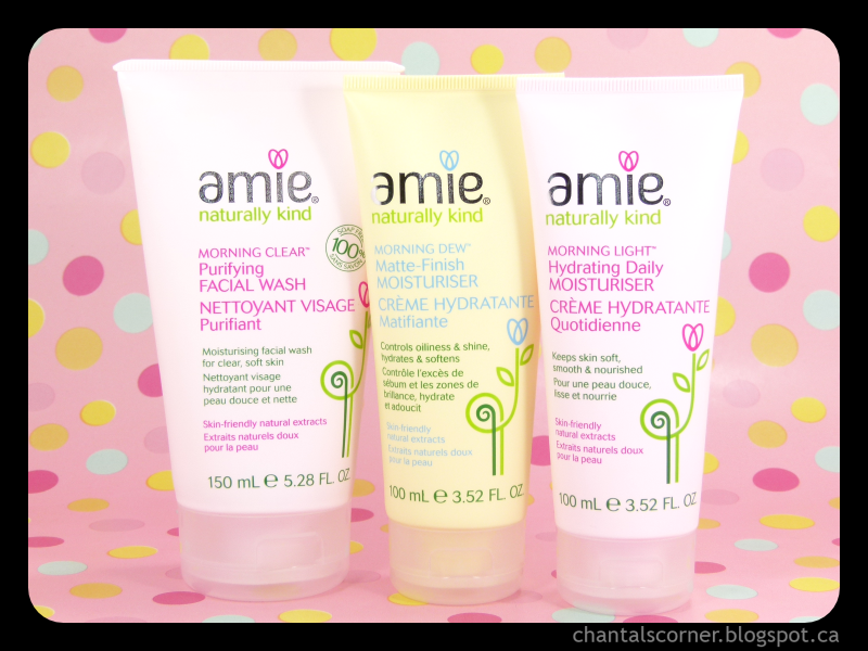 Belinda's Babblings: Amie Skincare Review
