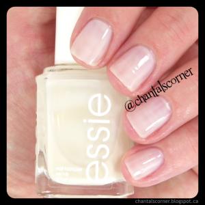 Essie while nail polish