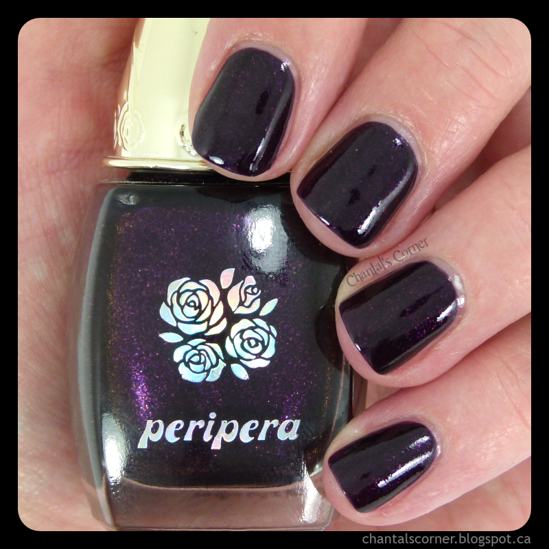 peripera nail polish luxury purple pp107