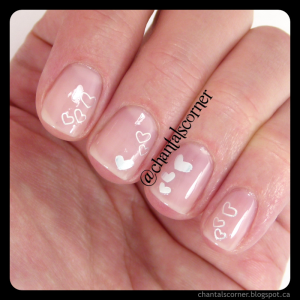 BornPrettyStore Mini Heart Stars Pattern Nail Art Water Decals