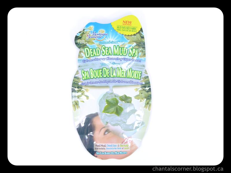 "Mask Monday: Montagne Jeunesse ""Dead Sea Mud Spa"" Face Mask Sheet"