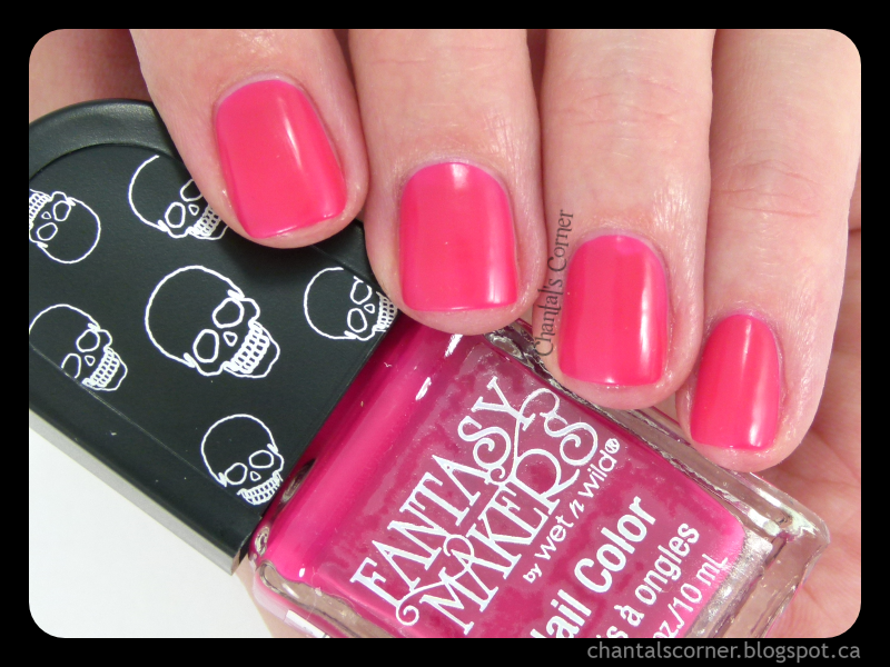 "Wet n Wild Fantasy Makers 2014 ""Ghouls Rush In"" Nail Polish – Swatches and Review"