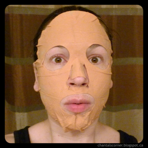 montagne jeunesse red earth clay spa face sheet mask