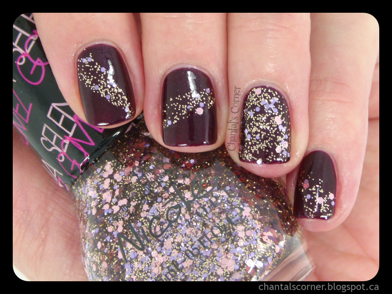 "Nicole by OPI ""Inner Sparkle"" Nail Polish – Swatches and Review"