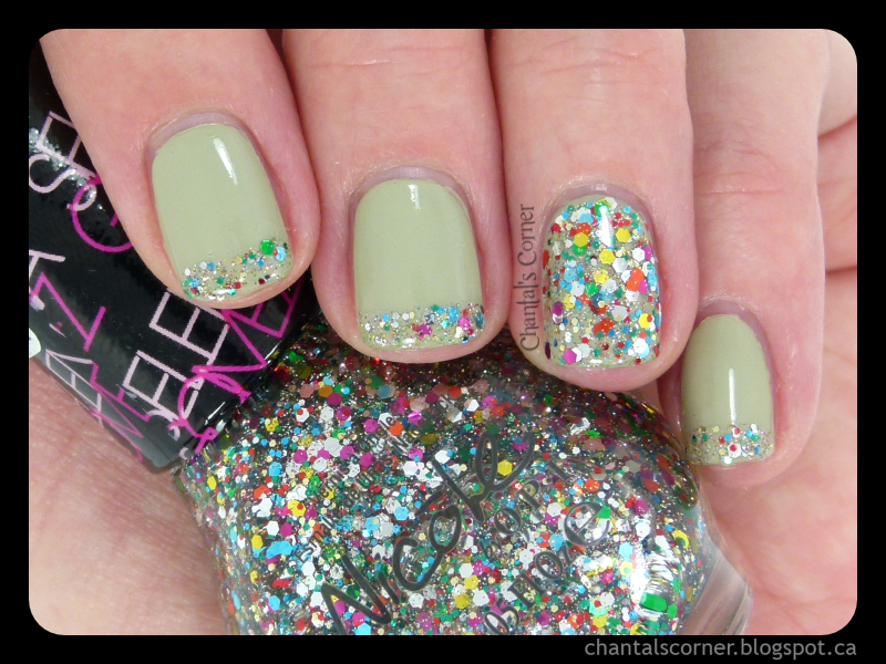 "Nicole by OPI ""Confetti Fun"" Nail Polish – Swatches and Review"
