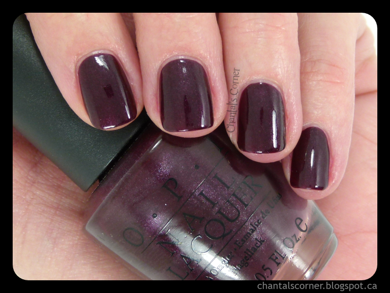 "OPI ""Yes… I Can-Can!"" Nail Polish – Swatches and Review"