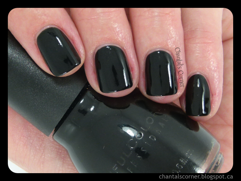 "Sinful Colors ""Black on Black"" Nail Polish – Swatches and Review"