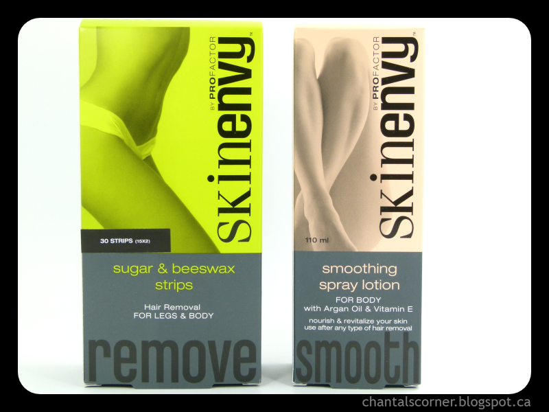 Skin Envy Sugar & Beeswax Strips and Smoothing Spray Lotion – Review