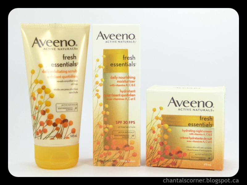 Aveeno Fresh Essentials Products Review