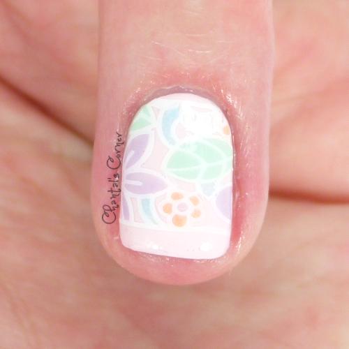 nail art stamping decal