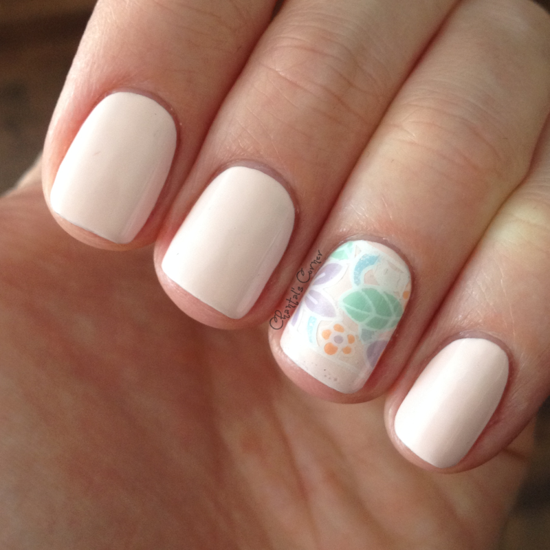 nail art stamping decal