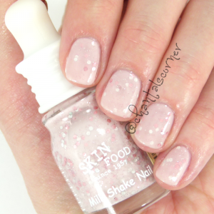 skinfood milk shake nail polish vi01 berry shake